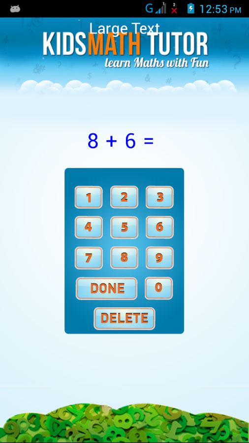 Kids Math Tutor | Gexton